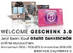 brother welcome Geschenk