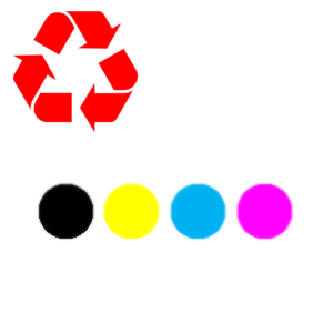Toner refill farbig