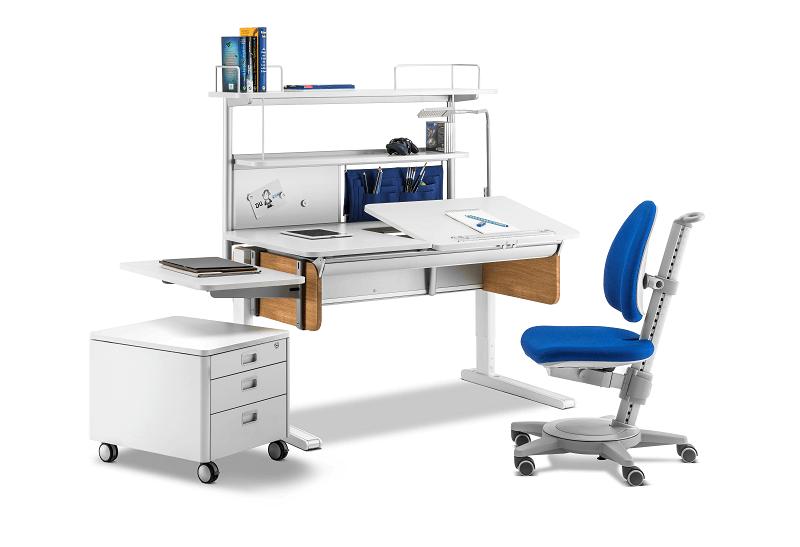 moll Champion Schreibtisch mit Stuhl und Container